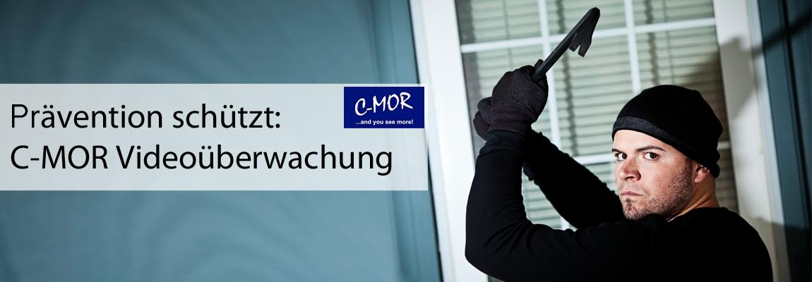 C-MOR Videoüberwachung Prävention schützt