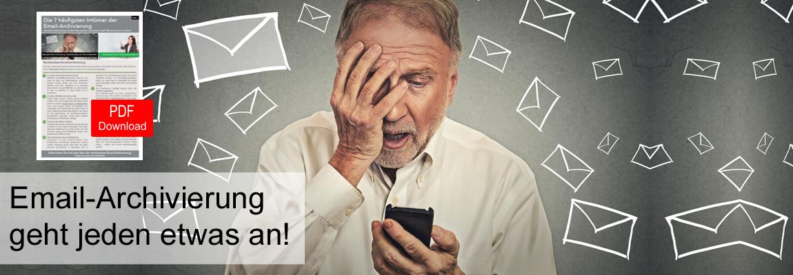Die 7 häufigsten Irrtümer der Email-Archivierung