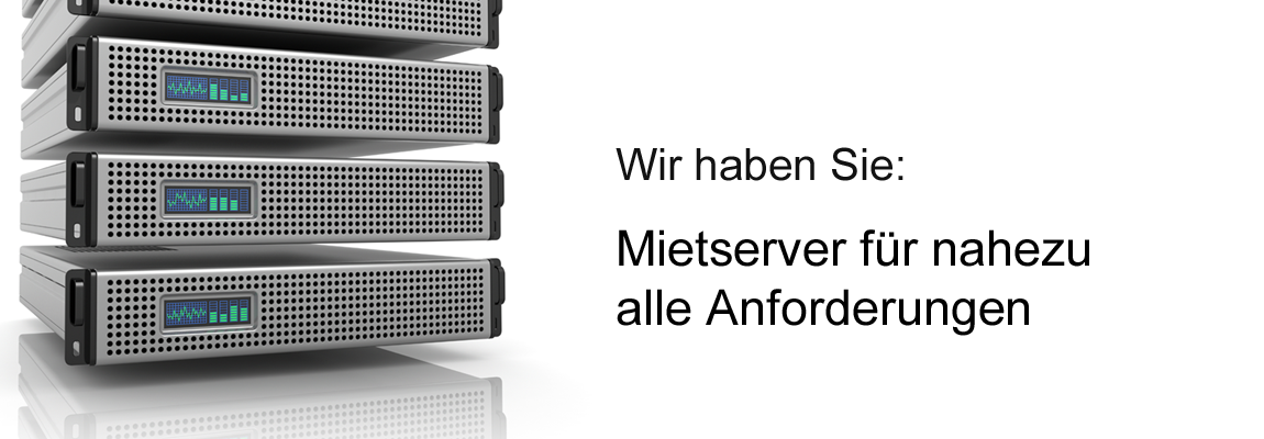 Mietserver für alle Anforderung, Betreute Server, Colocation, Virtuelle Server