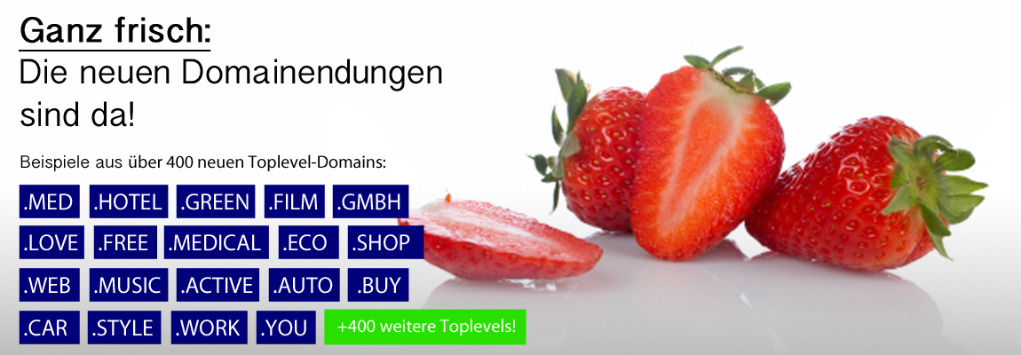 Neue Toplevel-Domains