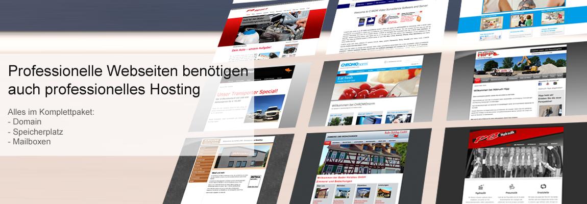 Webhosting für Unternehmen